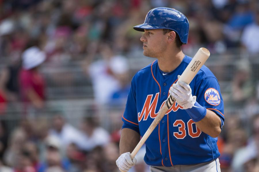 Michael Conforto, New York Mets Photo Credit: Michael Ivins/Boston Red Sox/Getty Images