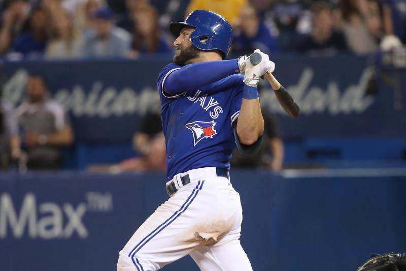 Kevin Pillar, Blue Jays Photo Credit: Tom Szczerbowski/Getty Images