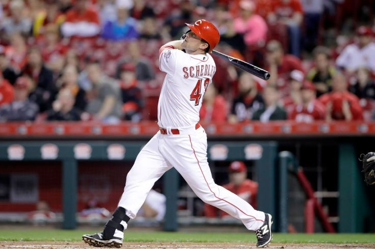 Scott Schebler Photo by Andy Lyons/Getty Images